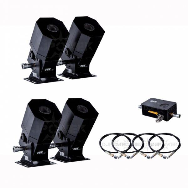 DJPOWER X4 Mini RGB LED CO2 Jets (Set of 4)