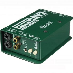 Radial engineering ProAV2 Passive DI Box