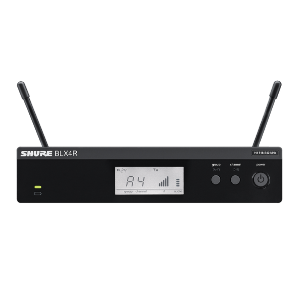 SHURE BLX4R Wireless Rackmount Receiver