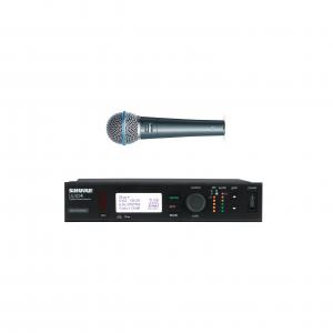 SHURE ULXD4 Receiver + SHURE BETA 58A Microphone