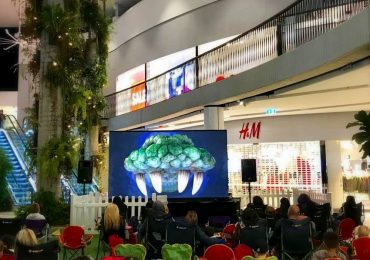 Gloshine Wpix3.91 LED Screens For Movie Night @ Westfield Warringah
